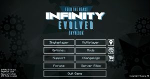 FTB Infinity Evolved Skyblock Season 1