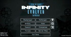 FTB Infinity Evolved Skyblock Season 1